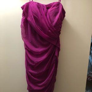 Cache Fuchsia formal dress